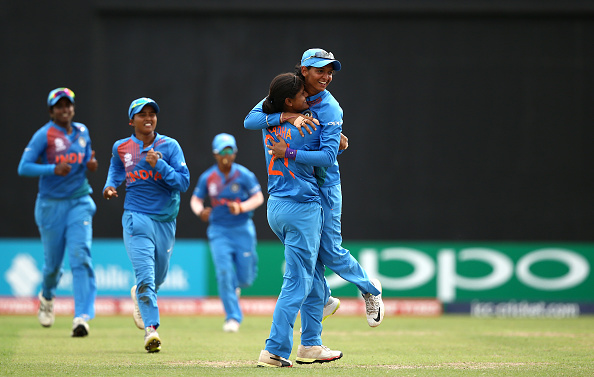 India finished on top of the Group B points table with an eventually comfortable win over Australia | Getty