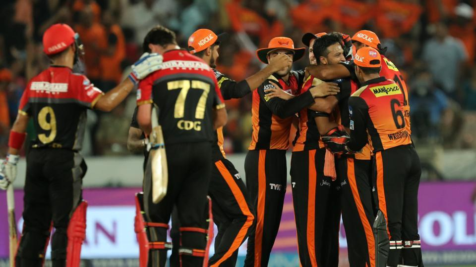 IPL 2018 : Match 39 , SRH vs RCB - Statistical Highlights
