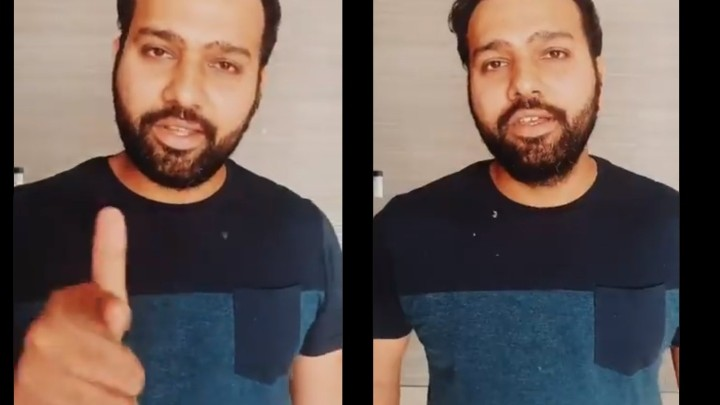 WATCH: Rohit Sharma completes the 'Keep It Up' challenge with a twist