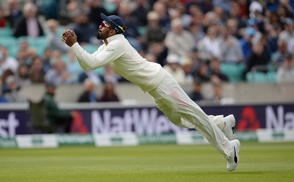 KL Rahul takes an unbelievable catch | Getty Images