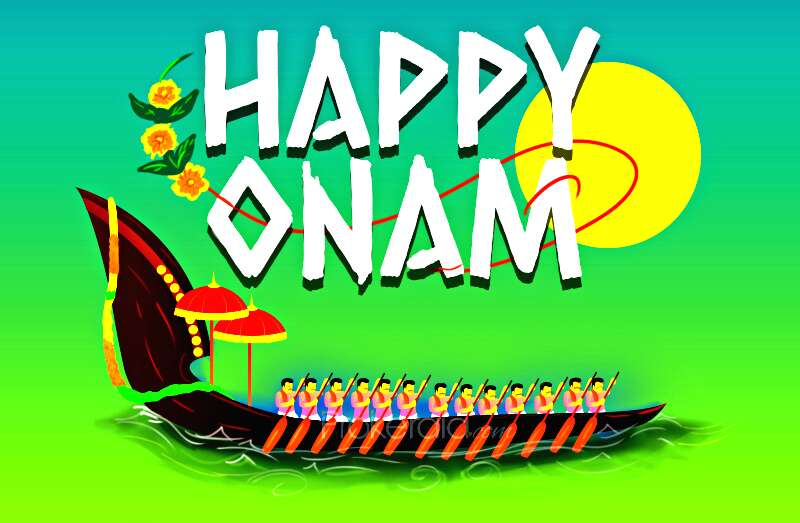 Onam is a big harvest festival celebrated in Kerala and by Malayalis all over the world