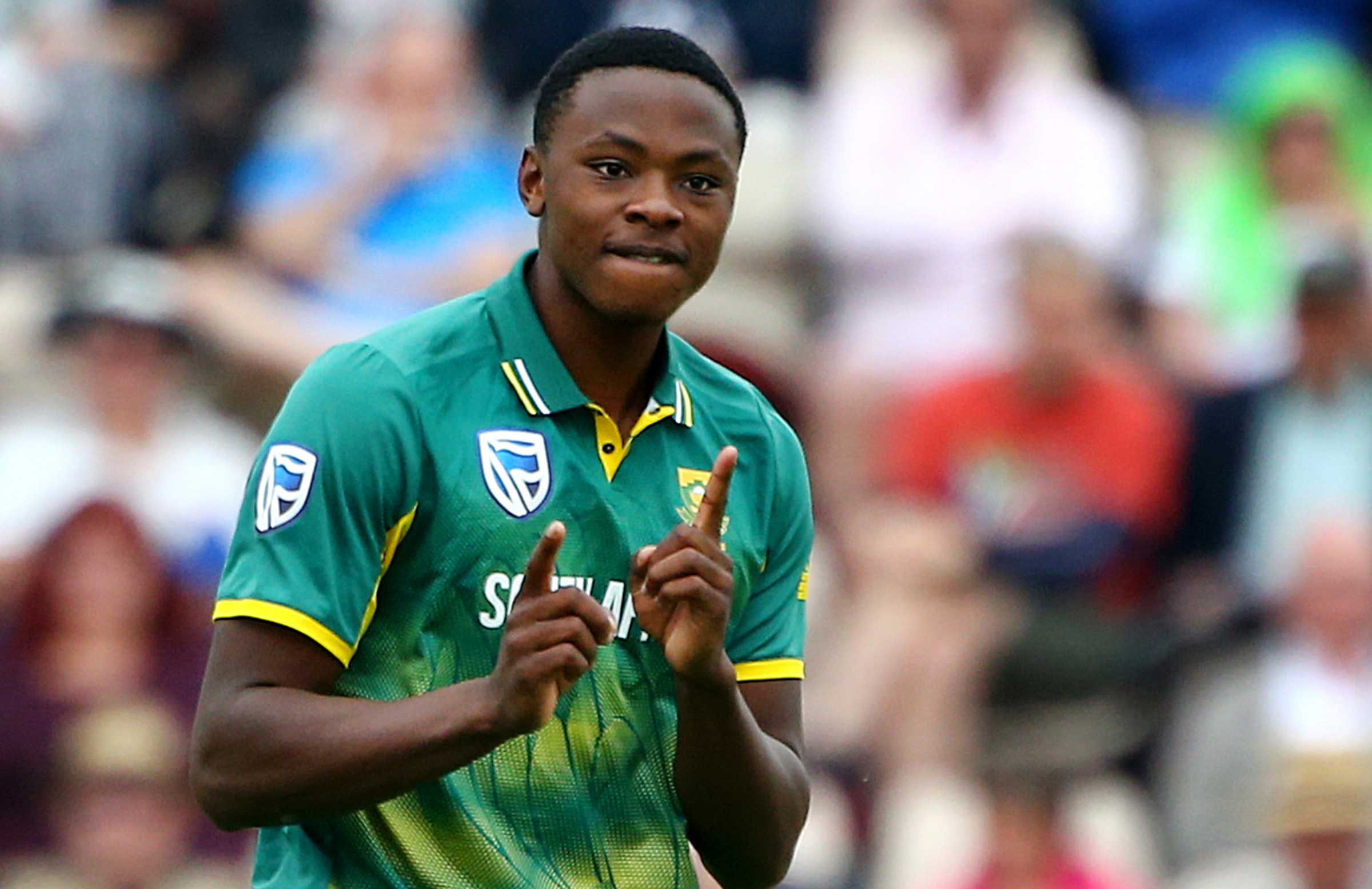 Rabada was fined 15 percent of his match fees. (AFP)