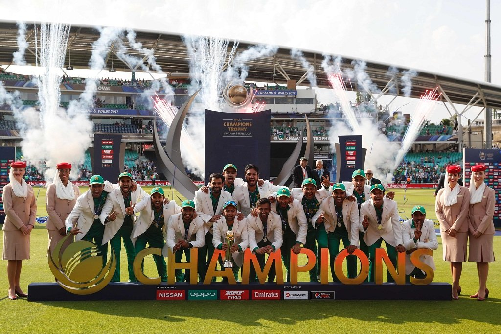 Pakistan pulled off its most remarkable victory since the 1992 World Cup | AFP