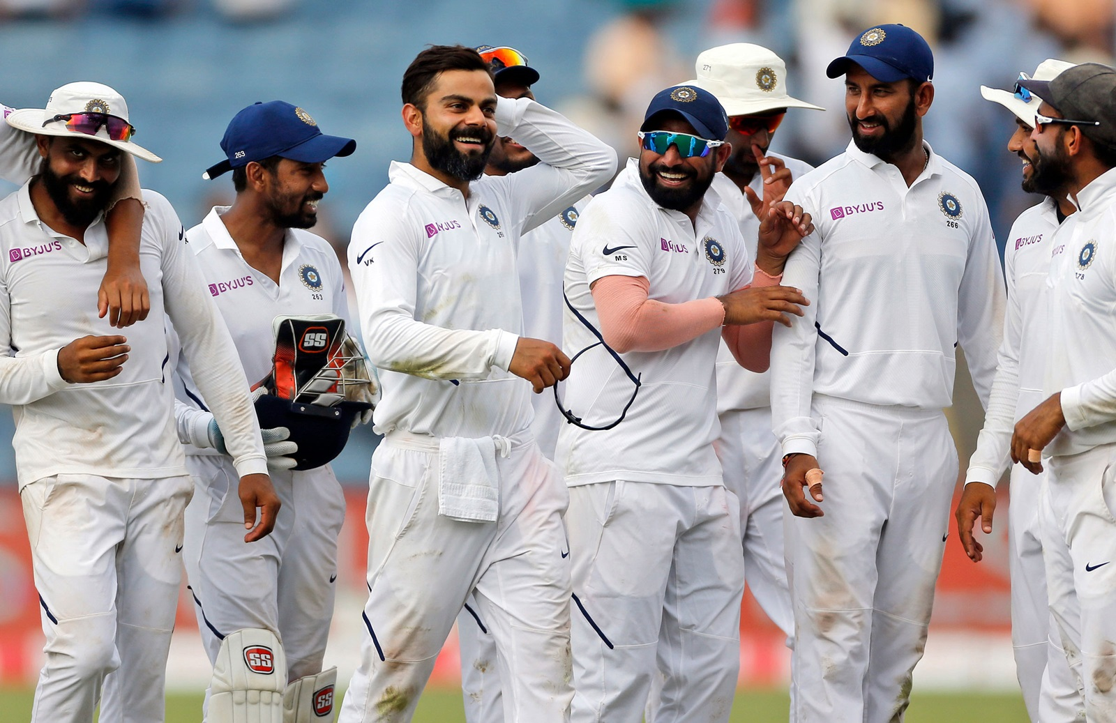Team India is the no.1 ranked Test team at the moment | AFP