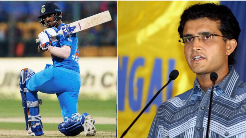 IND v WI 2018: Sourav Ganguly raises voice for KL Rahul's inclusion in playing XI