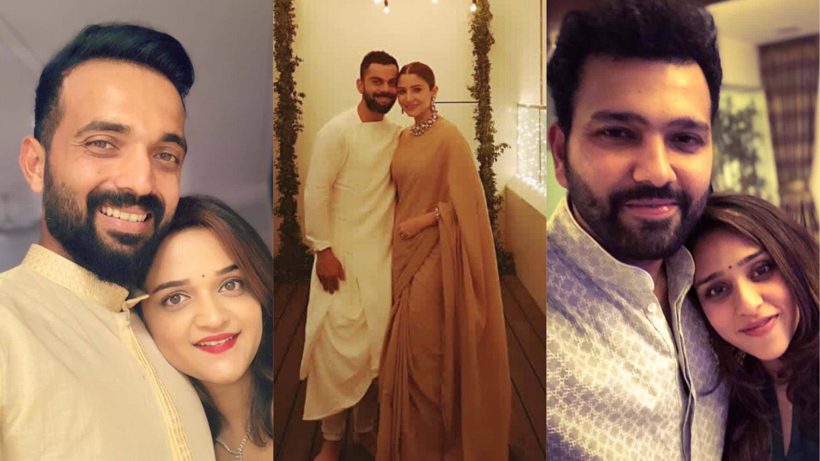 PICS: Indian cricketers celebrate the 'festival of lights' Diwali