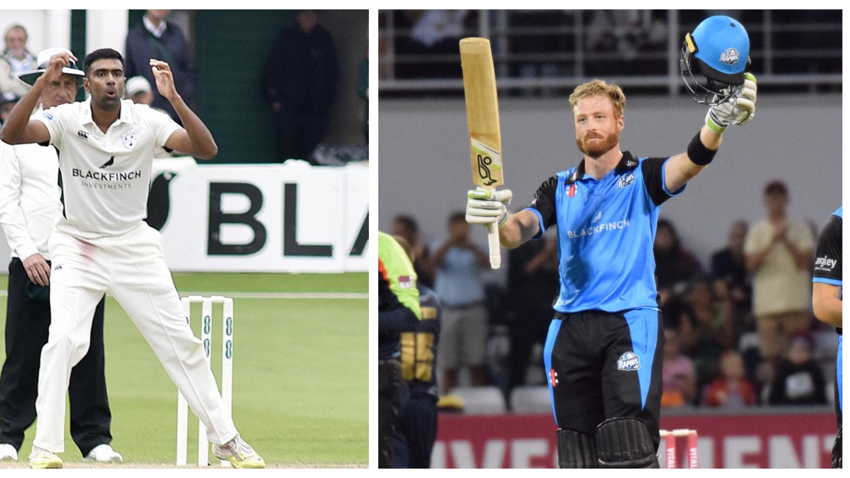 Ashwin and Guptill not to feature for Worcestershire during the English season finale