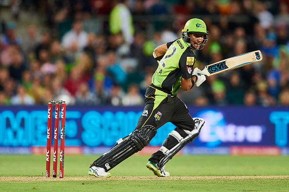 Sangha enjoyed batting with Root during BBL encounter   Getty Images