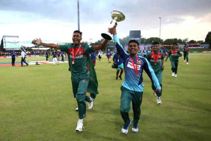 बांग्लादेश ने पहली बार जीता अंडर-19 विश्वकप | Getty