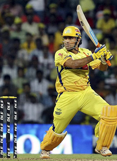 MSD took CSK to win against SRH