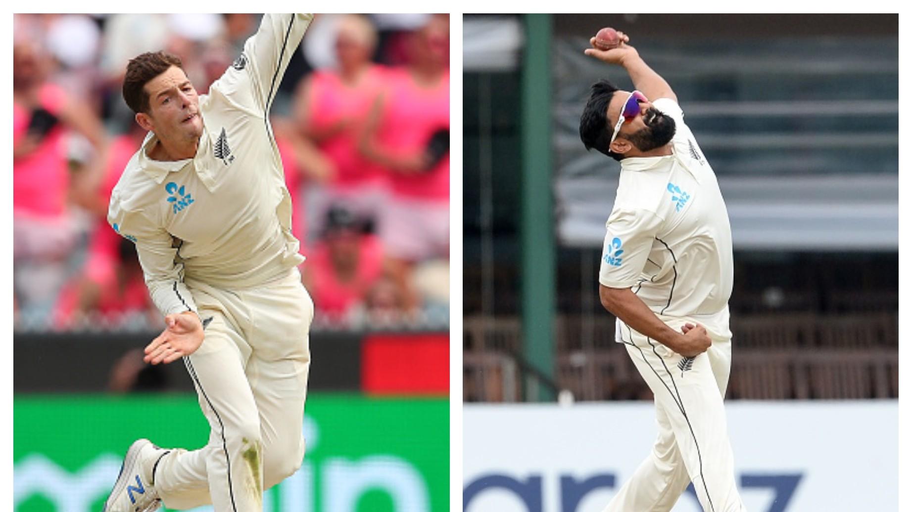 NZ v PAK 2020-21: New Zealand pick Mitchell Santner over Ajaz Patel for Pakistan Tests