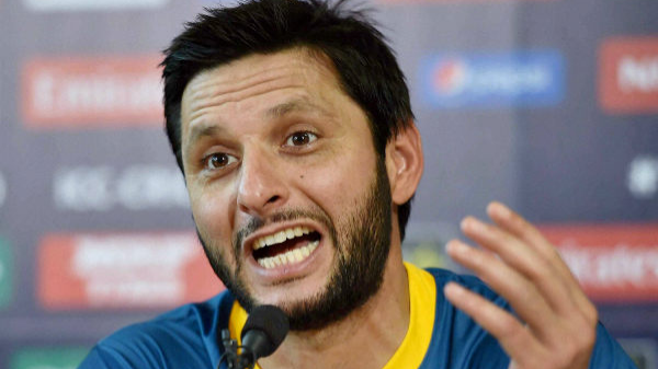 Shahid Afridi's tweet on Kashmir created a cross-border social media scuffle