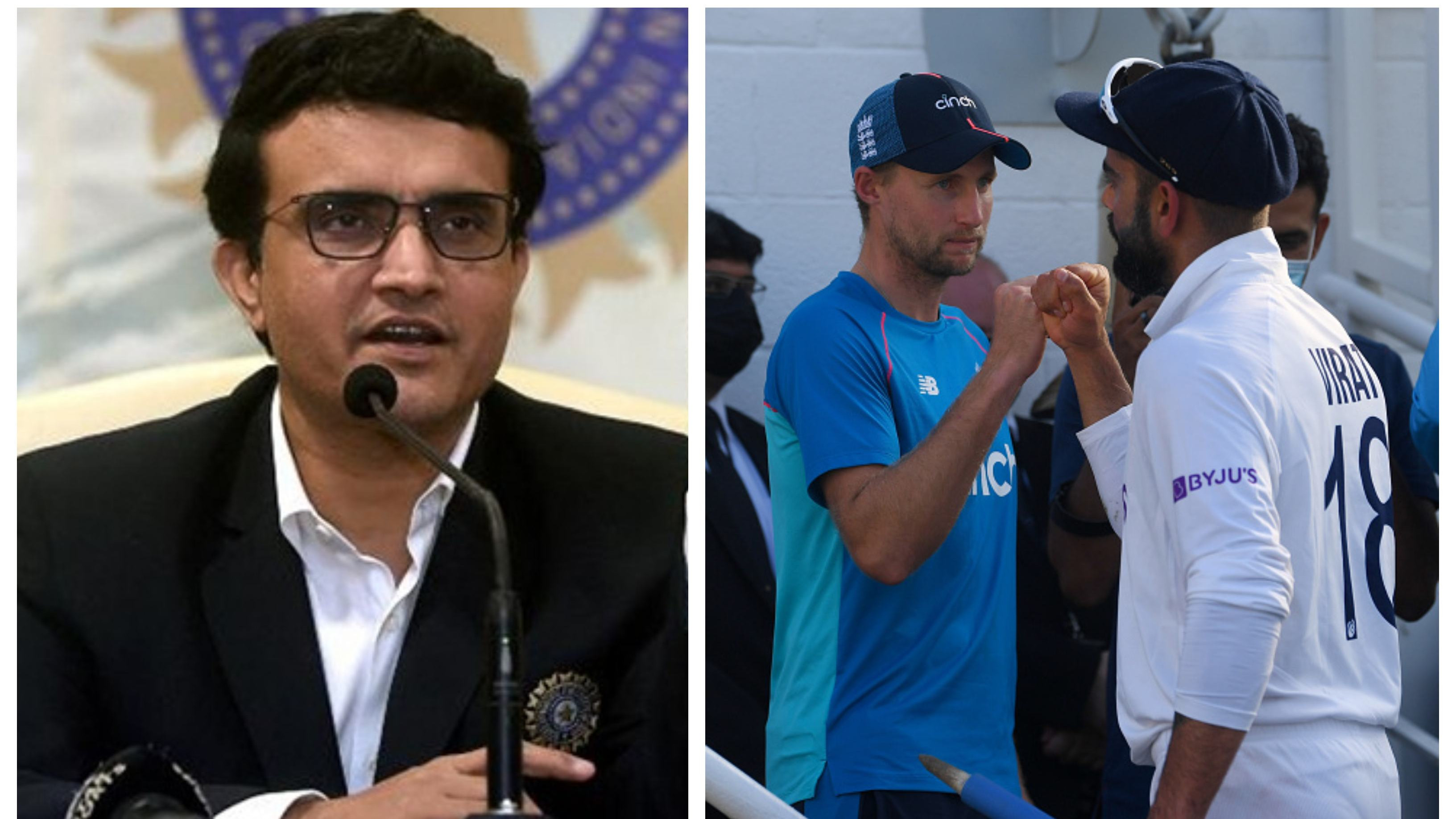 ENG v IND 2021: Sourav Ganguly says rescheduled Test against England won't be considered part of the series