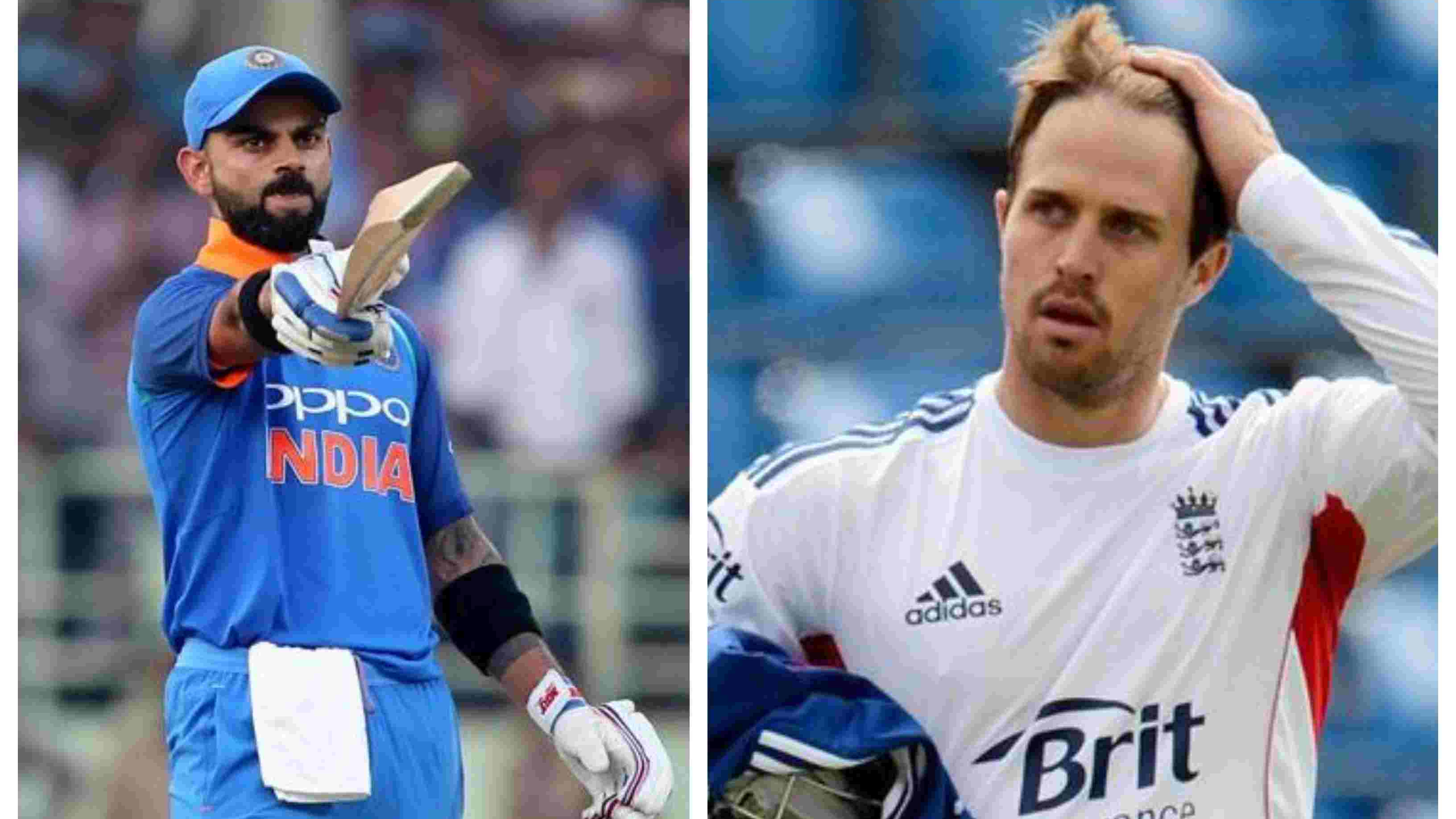 IND v WI 2018: Nick Compton takes a dig at Virat Kohli's 'consistent' performances against West Indies