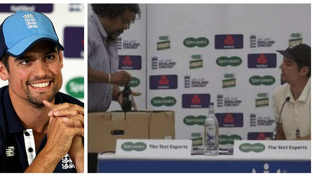 ENG v IND 2018: WATCH - Media gifts Alastair Cook something unique after he finishes with 33 Test hundreds