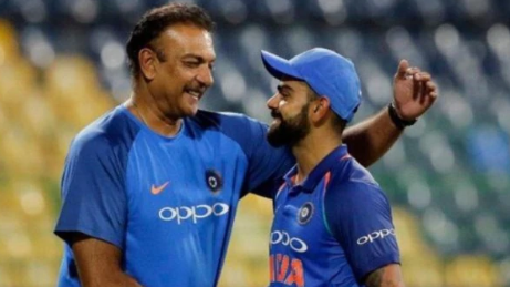 Twitterati hilariously reacts to Ravi Shastri's birthday post for Virat Kohli