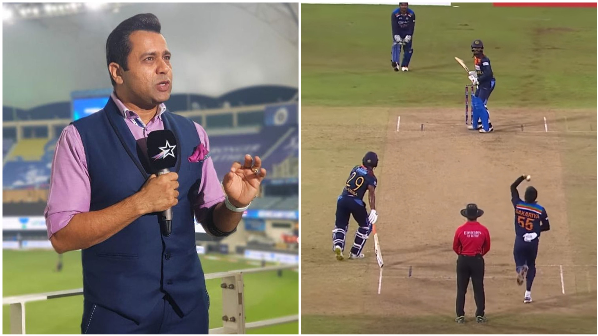 SL v IND 2021: Aakash Chopra reacts to the wide-ball controversy in second T20I