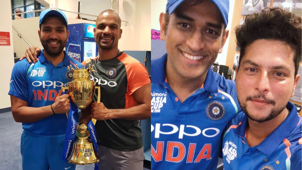 PICS – Team India celebrates the Asia Cup 2018 victory