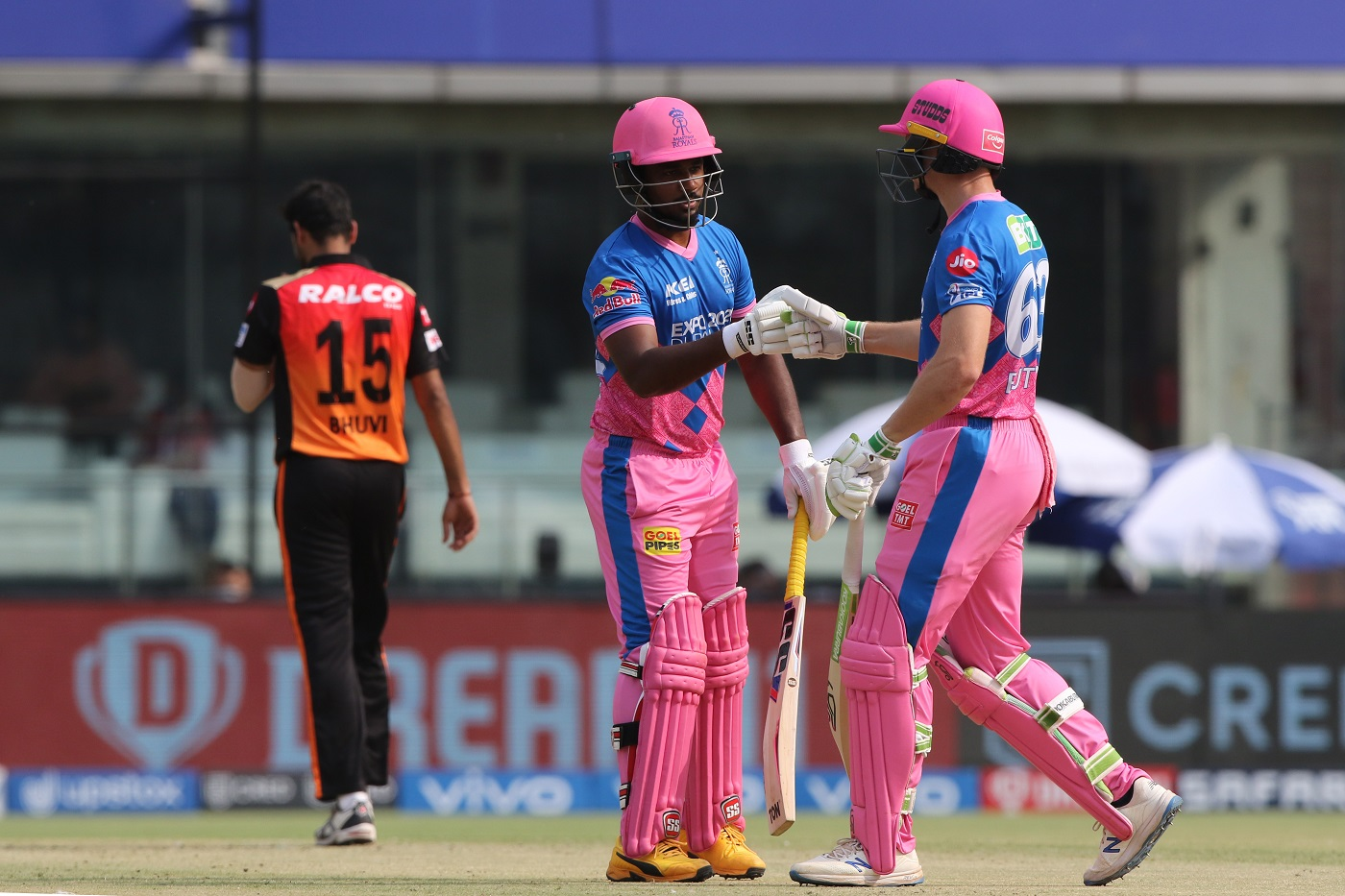 Jos Buttler and Sanju Samson added 150 runs for the second wicket   BCCI-IPL