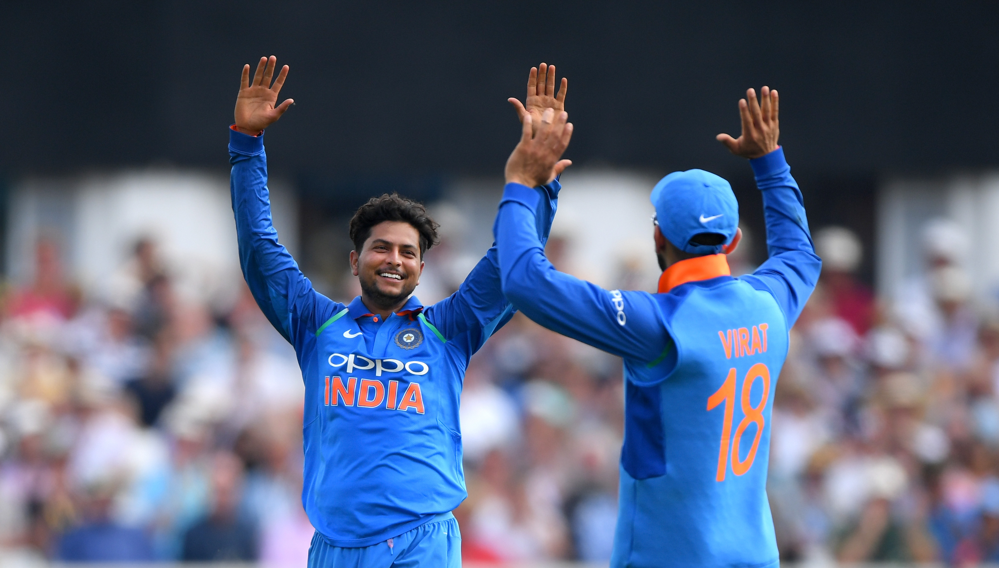 Kuldeep Yadav (6/25) registered 4th best bowling figures for India in ODI cricket. (Photo - getty)