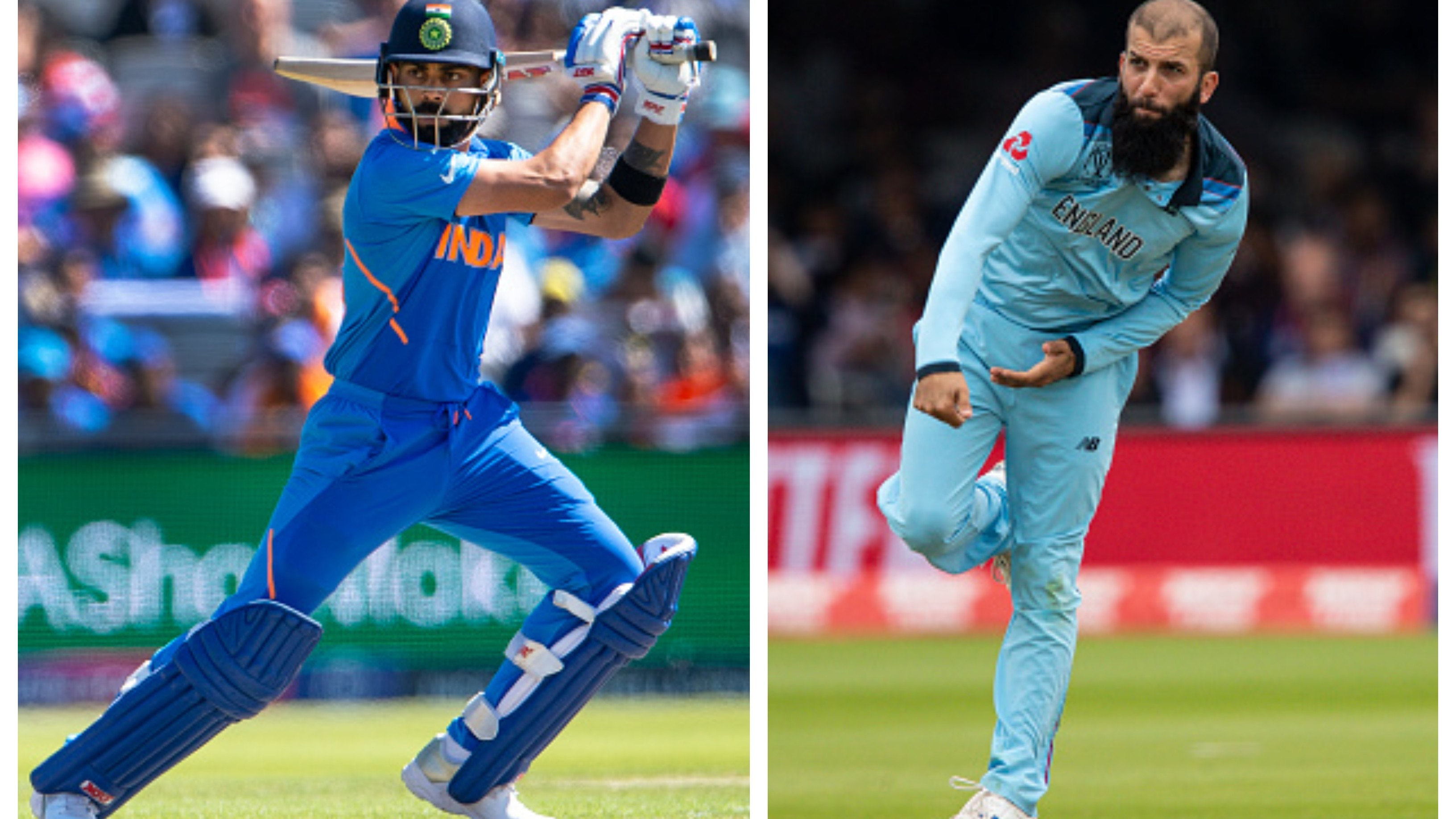 CWC 2019: Moeen Ali keen to get rid of Virat Kohli in England's must-win game against India