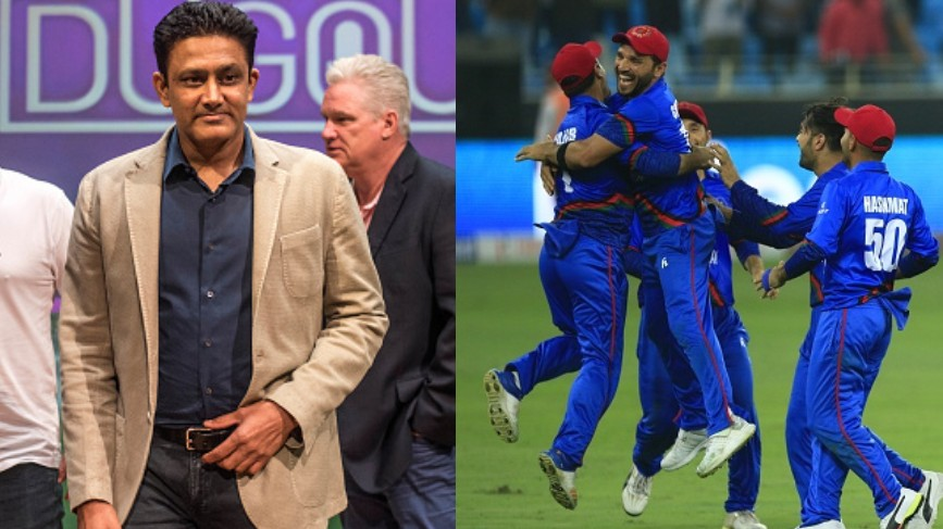 CWC 2019: Anil Kumble backs Afghanistan to put up a fighting show in the World Cup