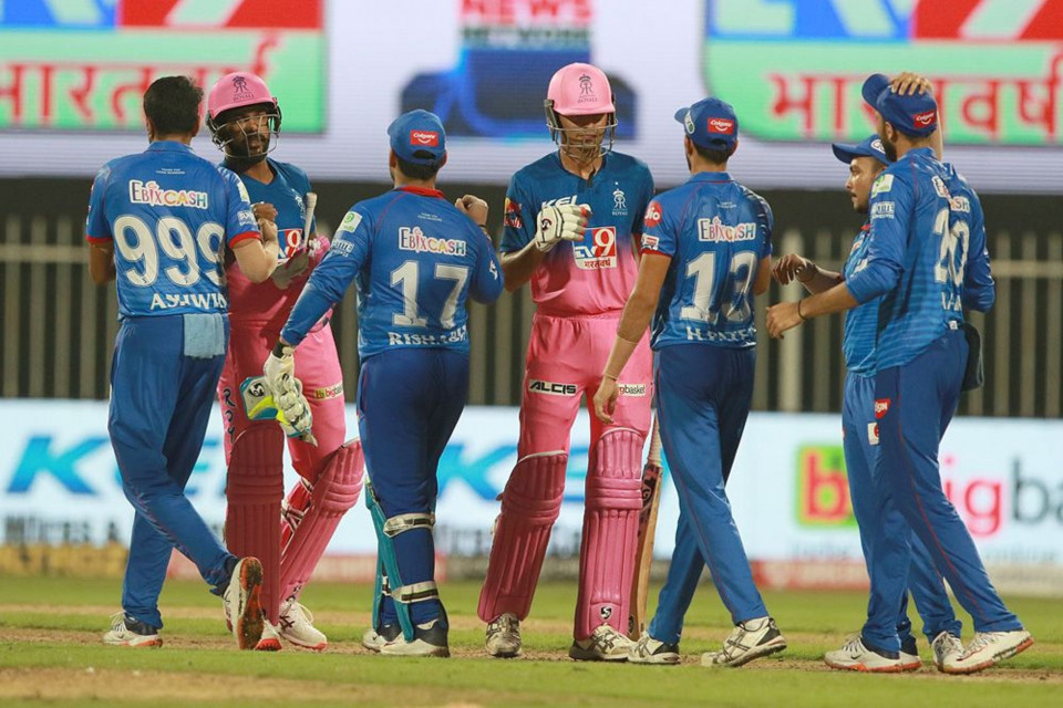 RR ended up 13 runs short of the target against DC | BCCI/IPL