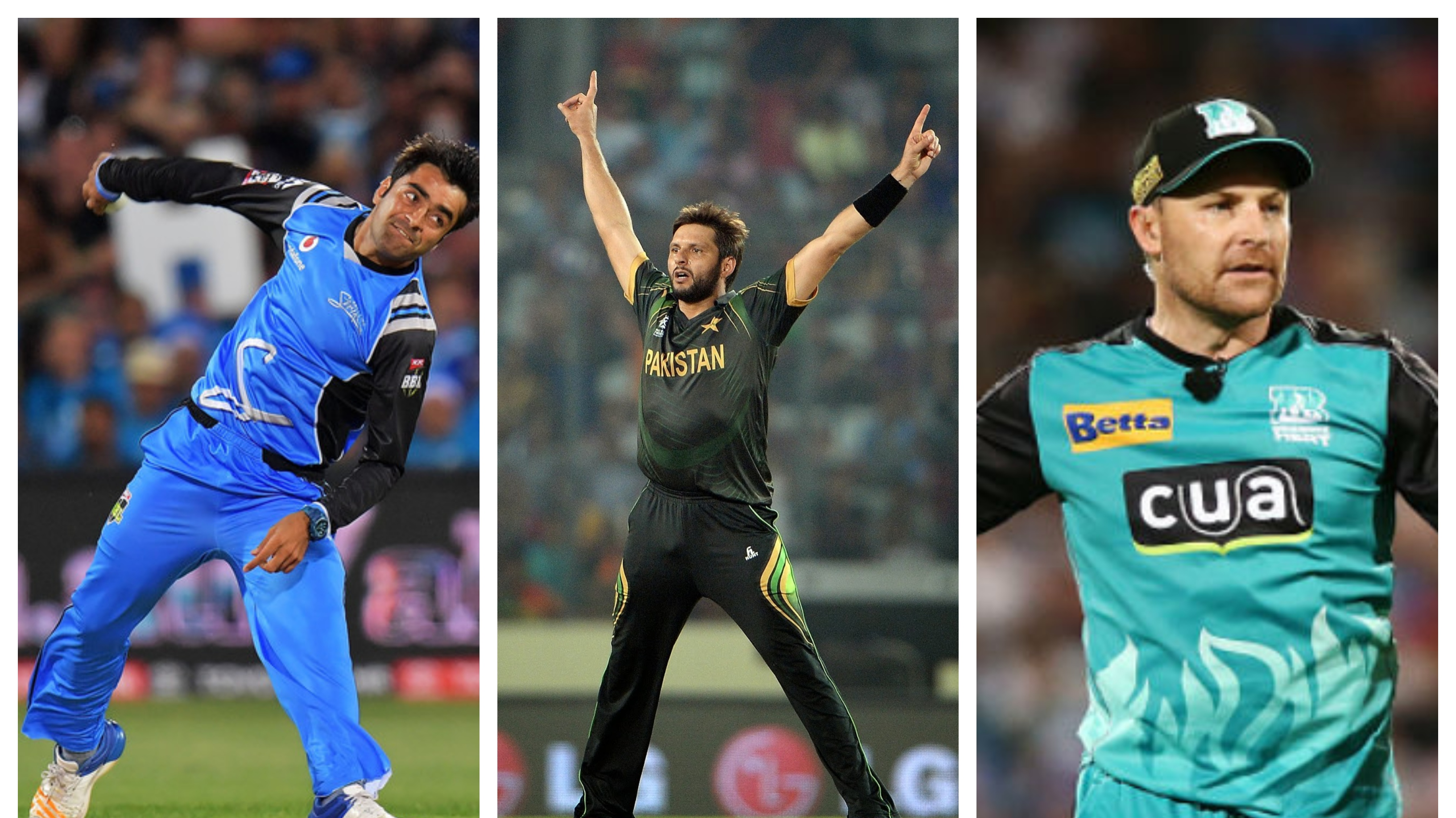 Rashid, Afridi, McCullum delighted to be in ESPNCricinfo's All-time T20 XI