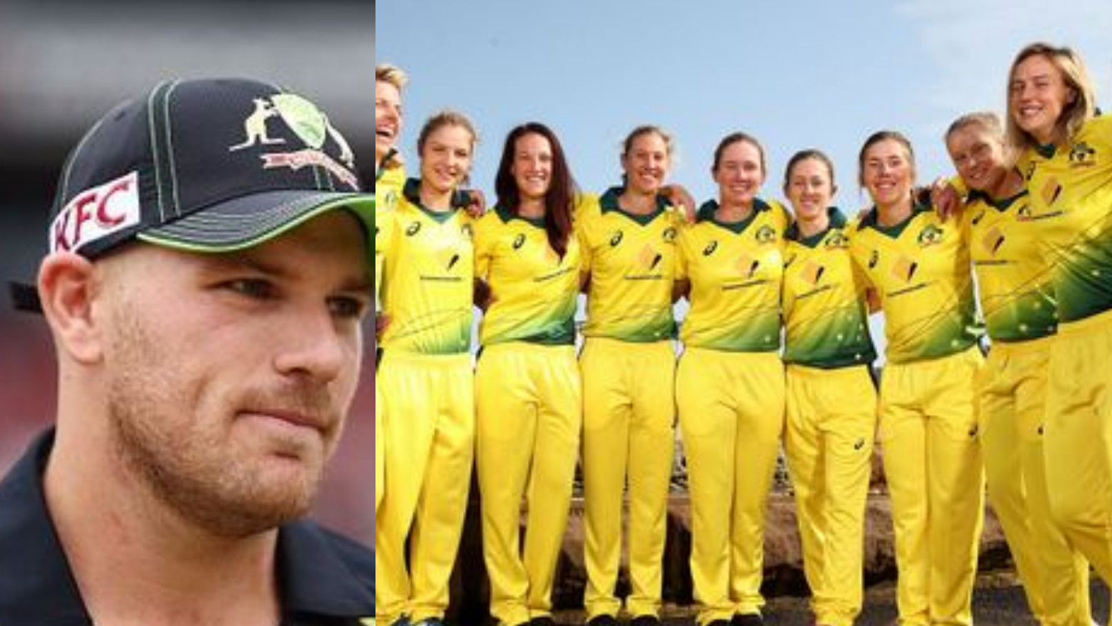 Women's World T20: Aaron Finch gives best wishes to Australia women's team for final against England eves