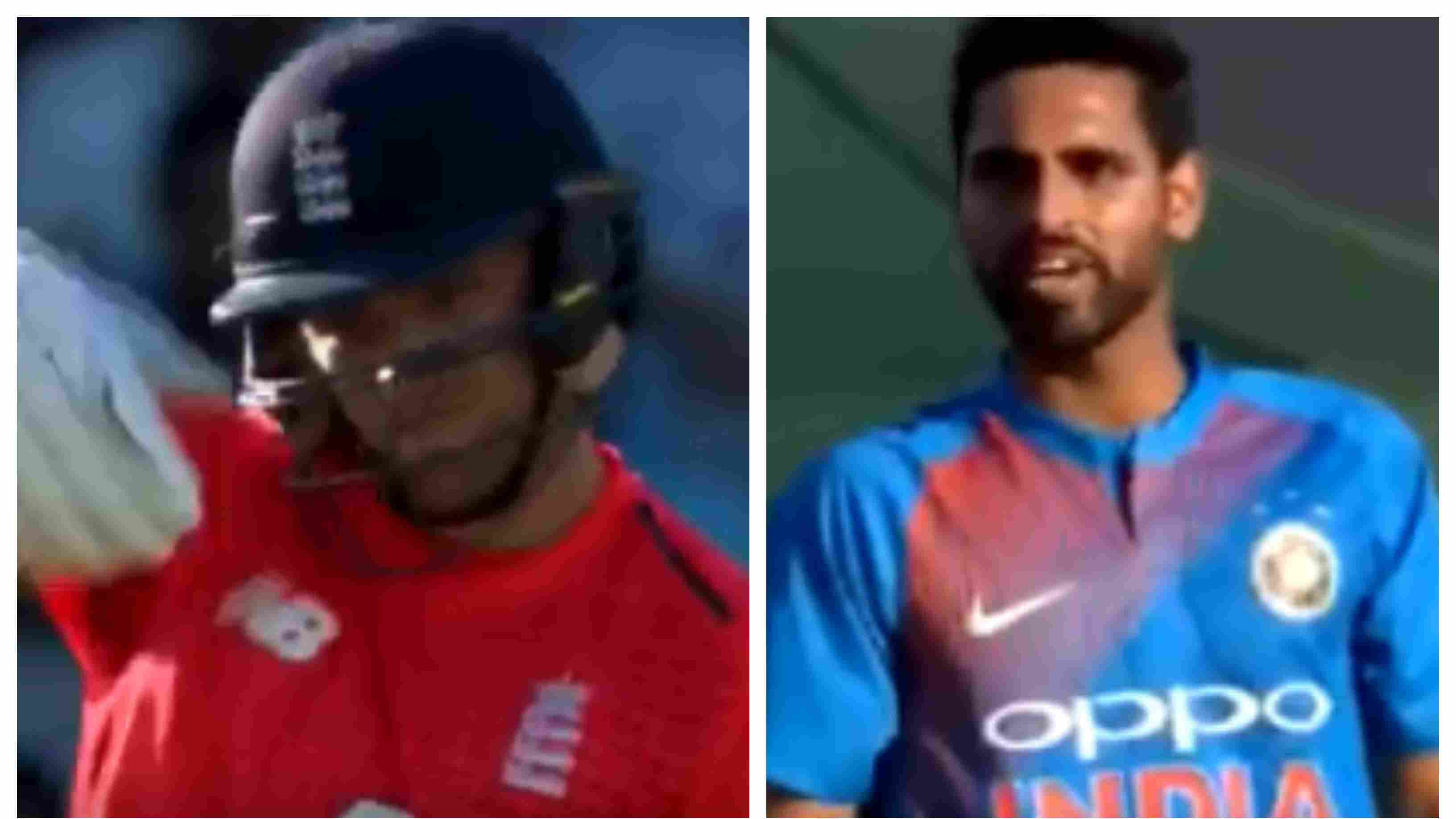 ENG v IND 2018: WATCH – Bhuvneshwar Kumar engages in a heated altercation with David Willey