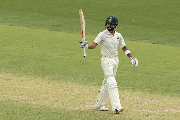 Virat scored 282 runs including a great hundred in Perth during the Test series down under | Getty