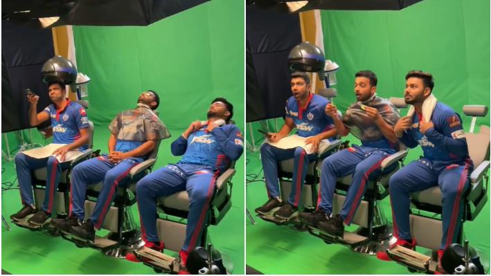 IPL 2021: WATCH: R Ashwin posts behind the scenes clip of silent acting with Rishabh Pant and Ajinkya Rahane