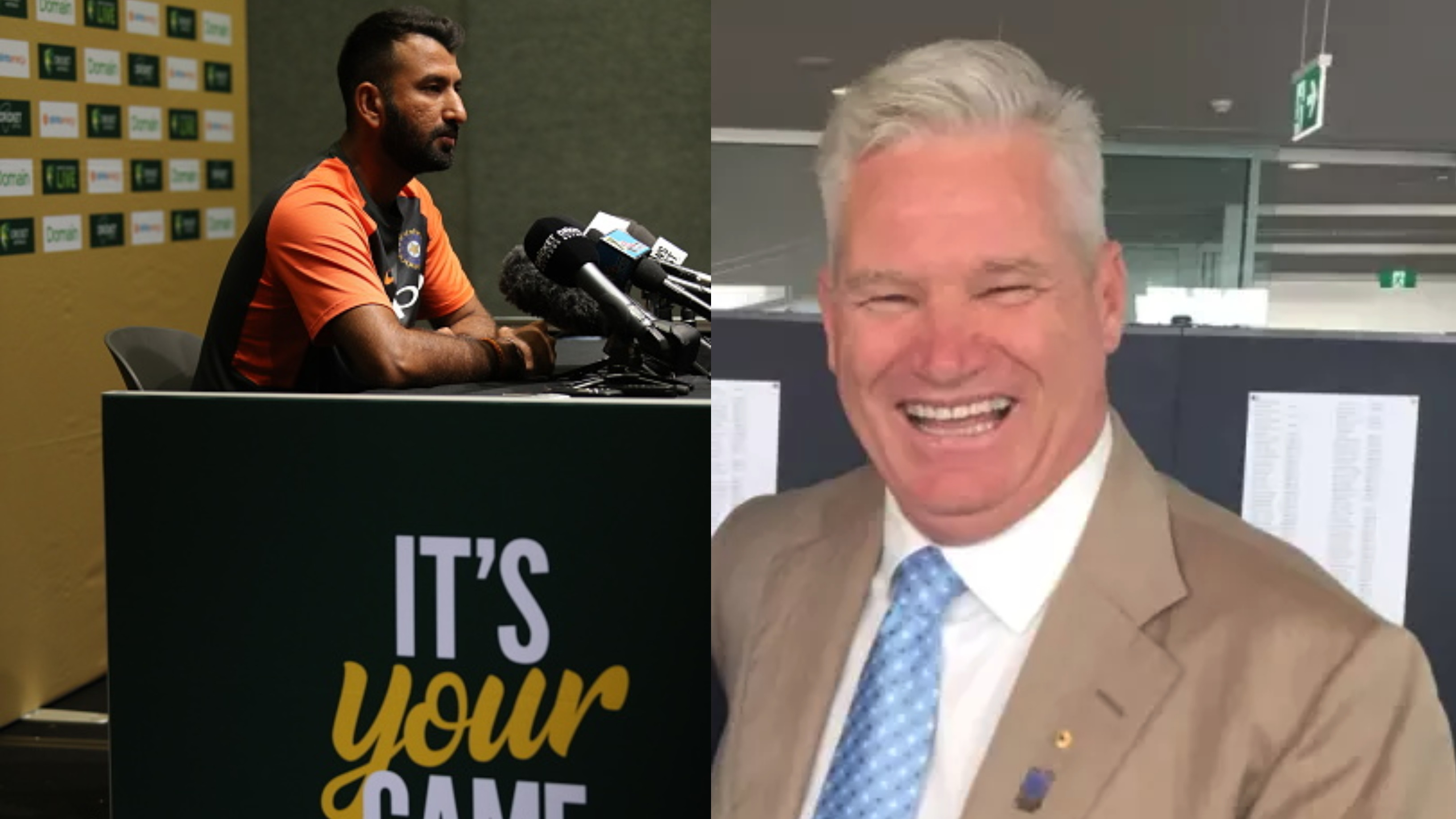 AUS v IND 2018-19: Dean Jones takes a dig at Cheteshwar Pujara's comment on India's bowling in practice game