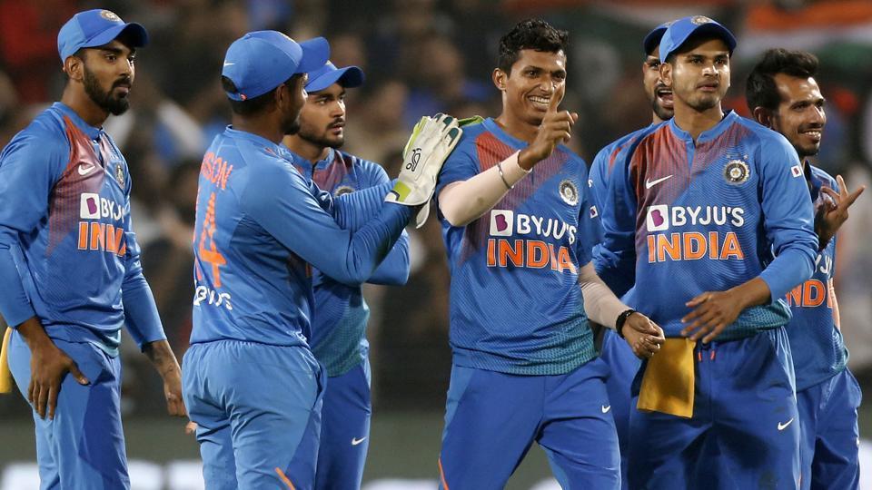 Navdeep Saini picked yet another 3-wicket haul | AP