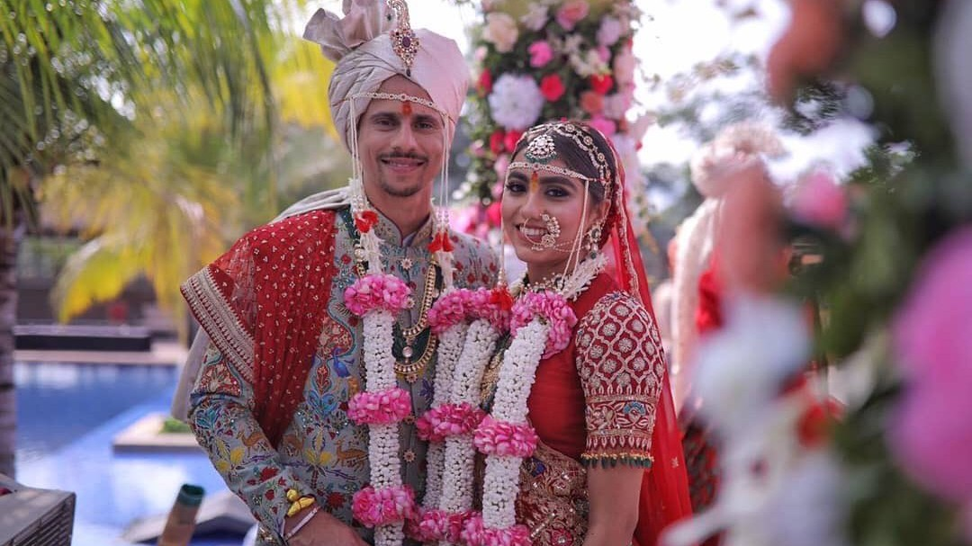 Mumbai batsman Siddhesh Lad ties wedding knot with Hiral Khatri