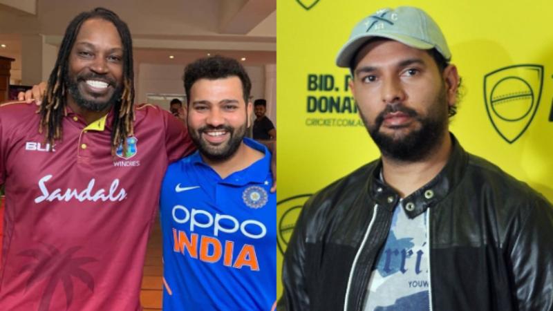 युवराज सिंह ने बताए टी-20 क्रिकेट में दोहरा शतक लगाने की क्षमता रखने वाले 3 बल्लेबाजो के नाम