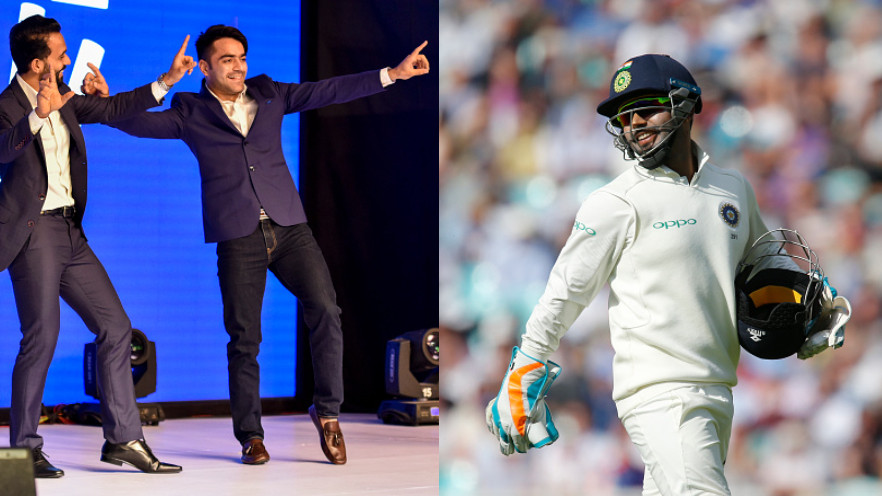 While many may find it hard, Rashid Khan spots Rishabh Pant in his childhood picture