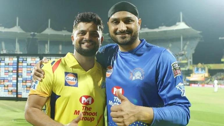 Suresh Raina and Harbhajan Singh | Twitter