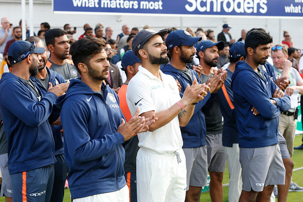 Indian cricket team | GETTY