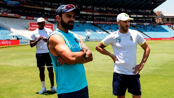 AUS v IND 2018-19: Faf du Plessis advices Aussies to not poke Virat Kohli and give him the silent treatment