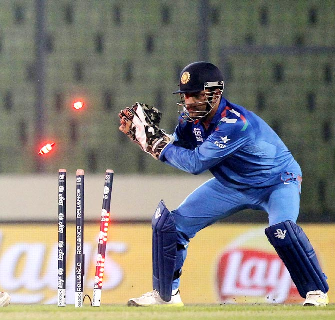 MS Dhoni reveals why he doesn't practice wicket-keeping in the nets