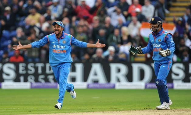 MS Dhoni and Suresh Raina | GETTY