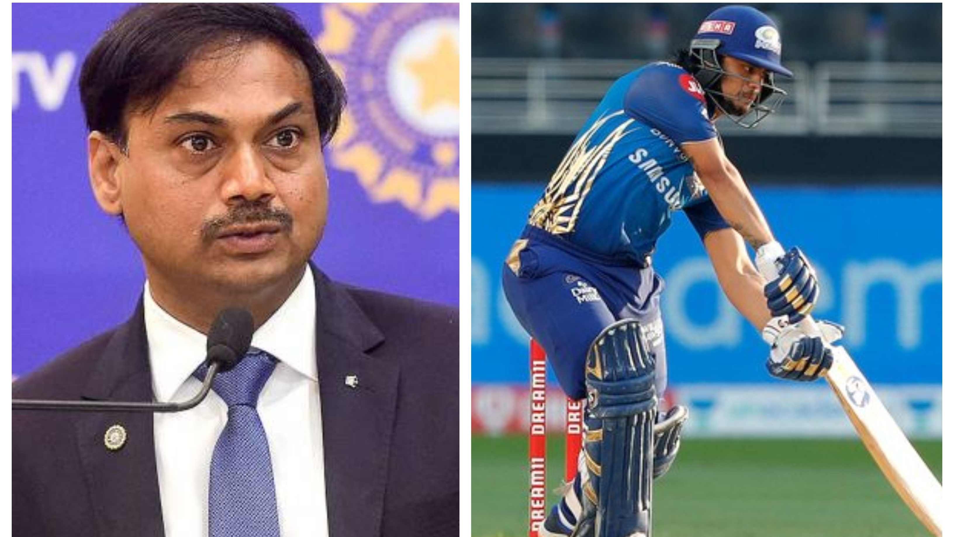 'Hot contender for wicketkeeper-batsman slot in both T20Is & ODIs': MSK Prasad hails Ishan Kishan