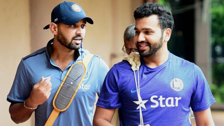 Rohit Sharma tweeted a sarcastic birthday wish for Murali Vijay
