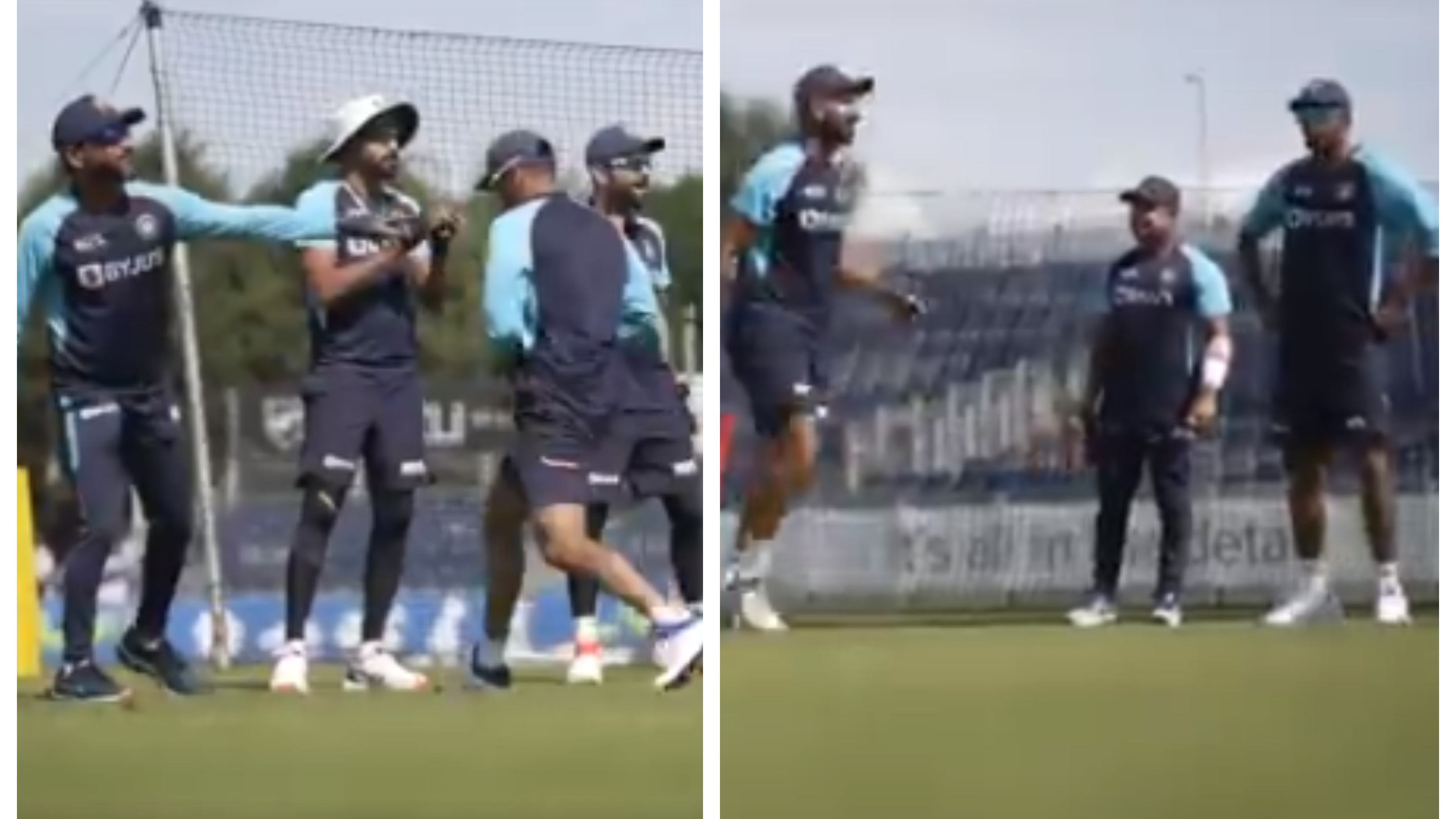 ENG v IND 2021: WATCH – Team India's entertaining fielding drill with competition between Team Kohli & Team Ashwin