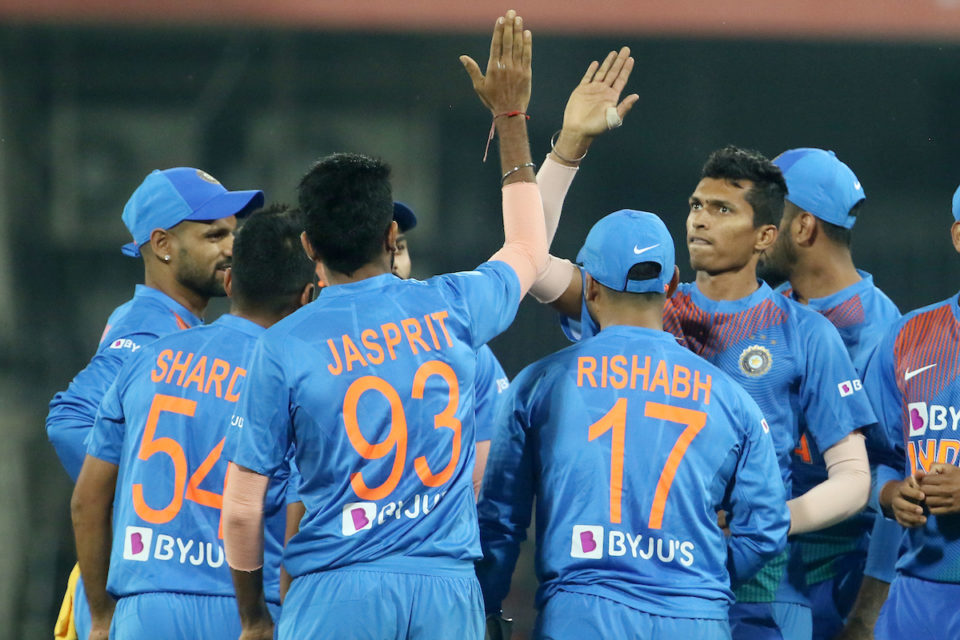 India won the second T20I at Pune by 7 wickets | AP