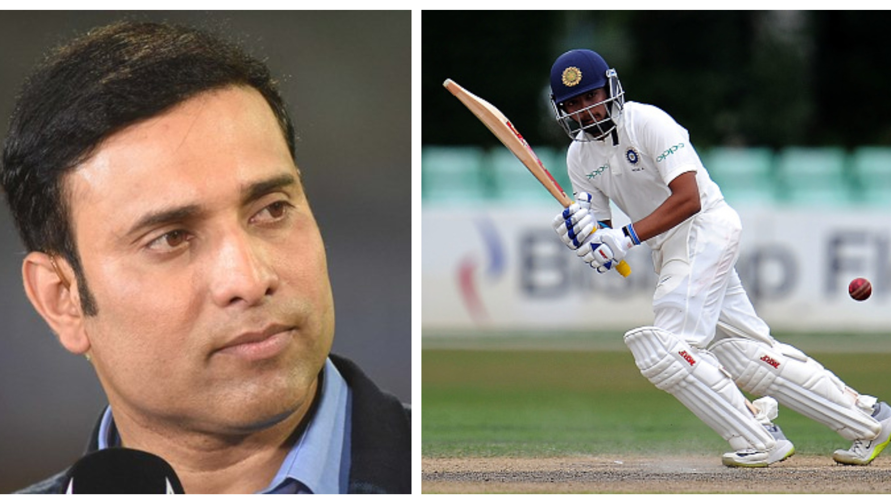 IND v WI 2018: Prithvi Shaw's maturity is beyond his years, says VVS Laxman