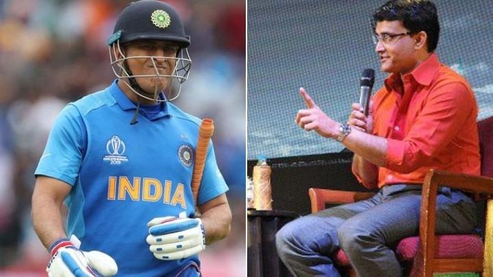 Sourav Ganguly's comments over MS Dhoni's future makes fans nervous