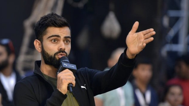 WATCH - Virat Kohli gives an epic reply to a question about his reaction to getting backlash on social media