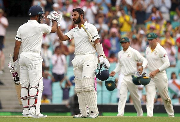 Pujara and Vihari batted really well but the rest of the batting unit collapsed | Getty